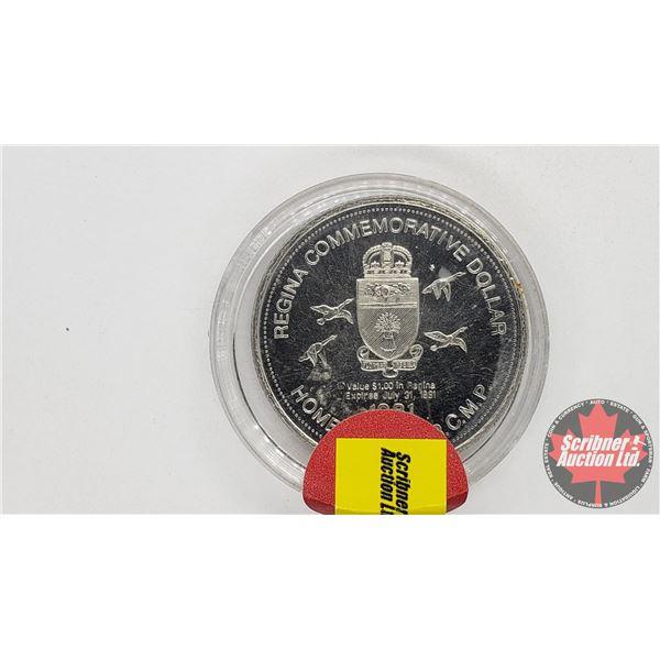 Regina Commemorative Dollar 1981