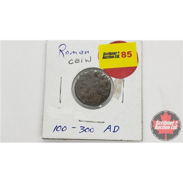 Ancient Roman Coin (??) 100-300AD