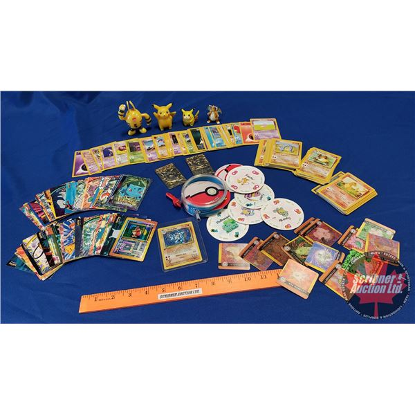 Tray Lot: Pokeman Variety - Collectibles (Incl. Cards, etc) (See Pics)