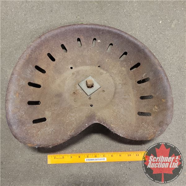 """Tin Implement Seat (17-1/2"""" x 13"""")"""