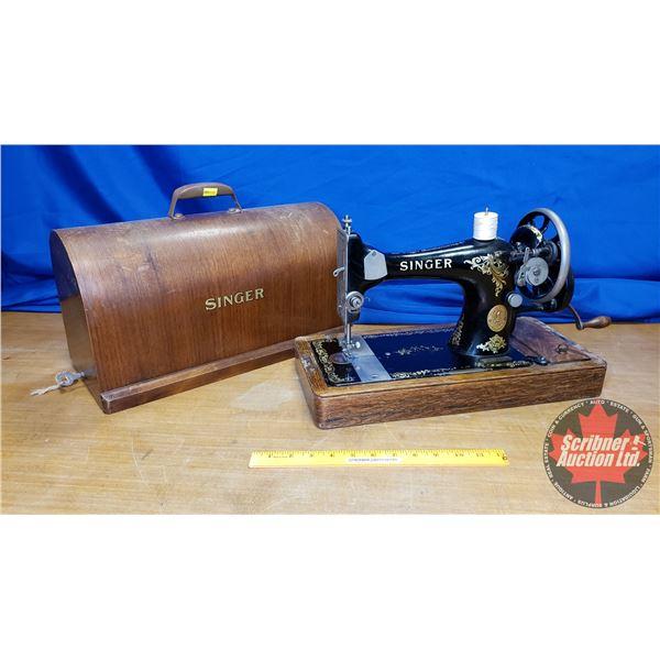 Hand Crank Singer Sewing Machine (S/N#Y1136621)