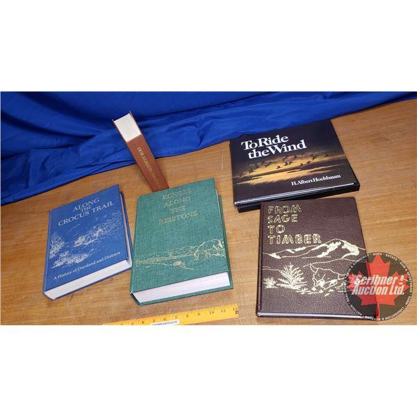 Box Lot: Hard Cover Books (Alberta Heritage Trail Books)