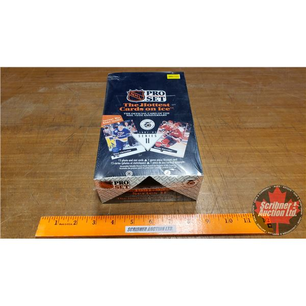 NHL Pro Set: The Official Card of NHL 75th Anniversary 1991-92 Series 2 Card Box Set