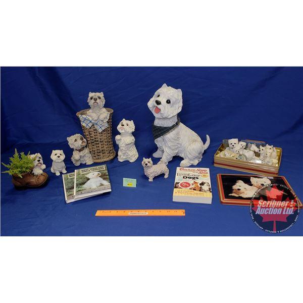 Shelf Lot: Terriers - Variety Home Décor Pieces
