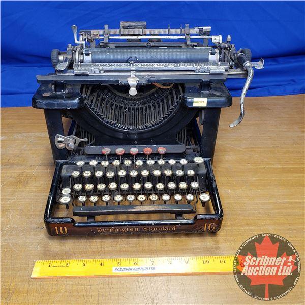 Remington Standard No. 10 Typewriter