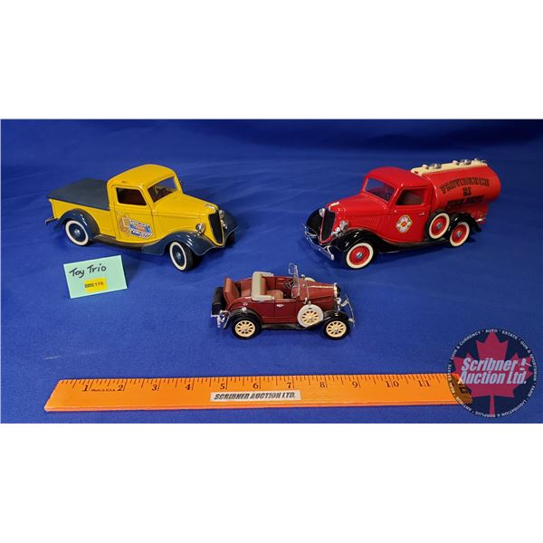 Toy Truck Trio (See Pics!)