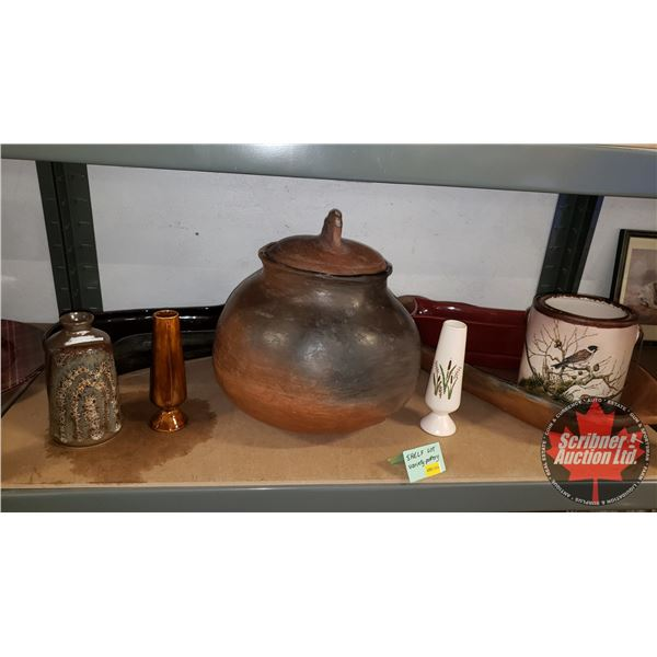 Collector Combo (Shelf Lot): Pottery / Décor ~ Variety ~ Must See Pics!