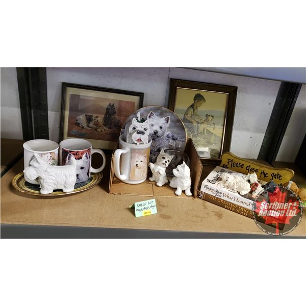 Collector Combo (Shelf Lot): Dogs & Puppies / Décor ~ Variety ~ Must See Pics!