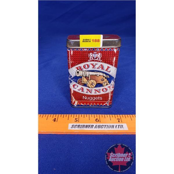 Royal Cannon Nuggets Tobacco Tin