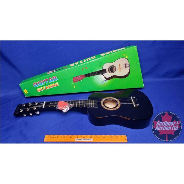 "Children's String Guitar in Orig. Box (24""H)"