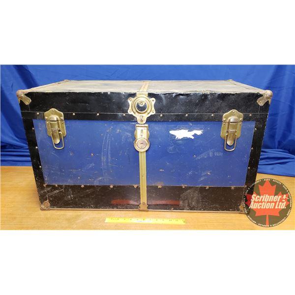 "Blue Steamer (19-1/2""H x 13""W x 17-3/4"")"