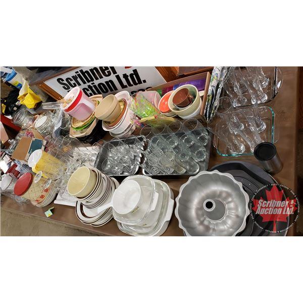 Large Collector Combo - Bulk Buy !! (Incl: Kitchen Starter Kit, Baking Pans, Glasses, Plates, Cornin