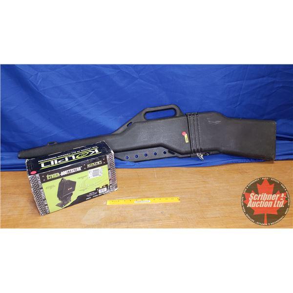 Gun Scabbard for ATV &  Kolpin Boottector  Bracket (New in Box) (53 L)