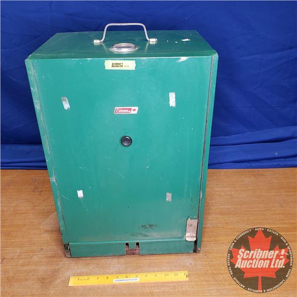 Coleman Vintage Smoker Box (22 H x 15 W x 11 D)