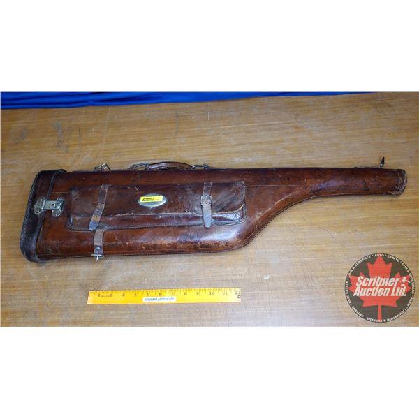 Leather Gun Case for Takedown Gun (30 L)