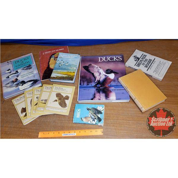 Tray Lot: Variety of Bird Books (See Pics!)
