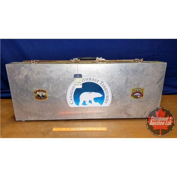 "Aluminum Gun Case (14""H x 36""W x 4-1/2""D)"