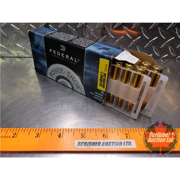 AMMO: Federal Power-Shok .243Win - 80gr Soft Point (1 Box of 20 Rnds)