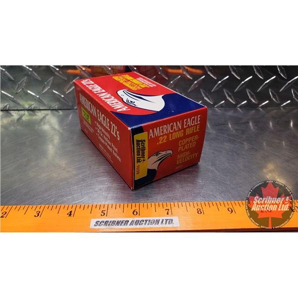 AMMO: Brick : American Eagle 22LR - 38gr Hollow Point (10 Boxes of 40 = 400 Rnds Total)