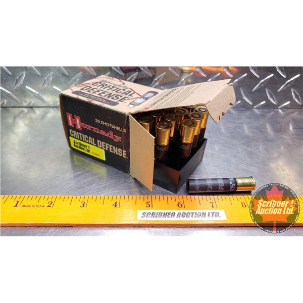 AMMO: Hornady Critical Defense .410 Triple Defense (2-1/2  - 750fps) (1 Box - 20 Rnds)