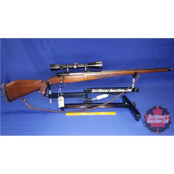 RIFLE: H. Dumoulin Full Stock Carbine 30-06 Bolt  (S/N#4840) (w/Leupold 3-9x40 Scope S/N#130323M & w