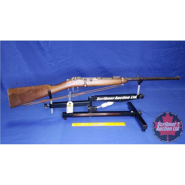 RIFLE: Mauser Spandau 71 Single Shot Bolt .43 Mauser or .11mm (Dated 1878) w/Sling (S/N#5662)