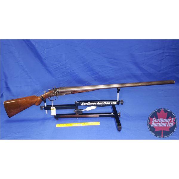"SHOTGUN: W.W. Greener ""Far Killing Duck Gun"" 10ga Side x Side (S/N#58749) (RARE) ""W. W. Greener 68 H"
