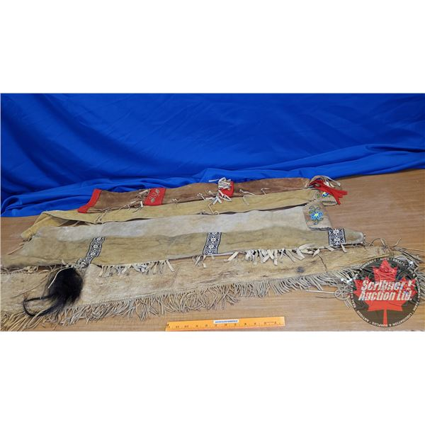 Tray Lot: Gun Scabbards (5) (See Pics!)