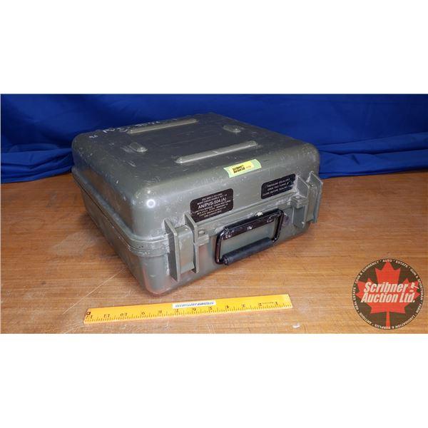 Military Hardshell Waterproof Padded Case