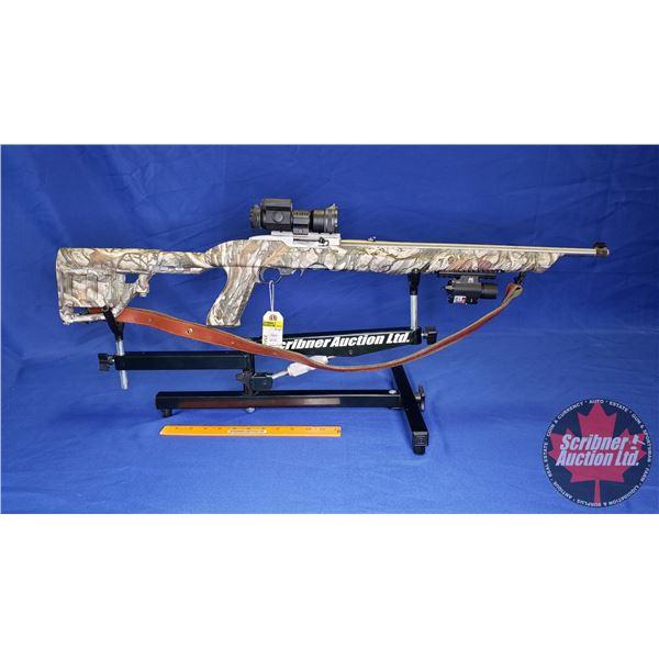 RIFLE: Ruger 10/22 Semi-Auto 22LR w/Tactical Stock, Vortex Strike Fire Scope, Laser / Flash Light, S