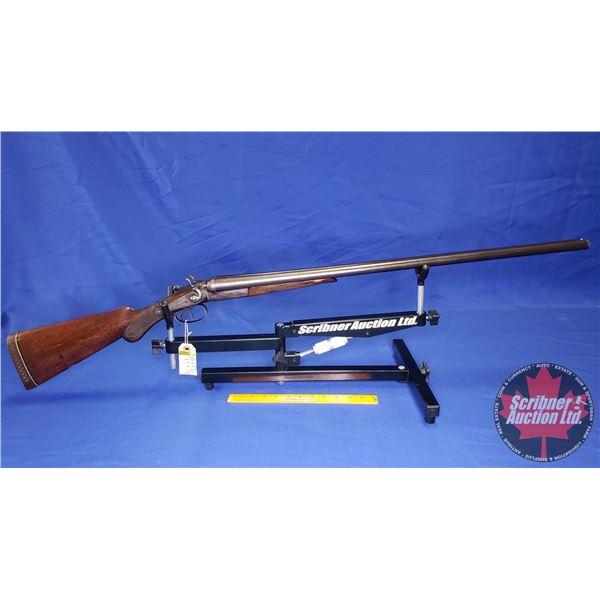"SHOTGUN: Hudson's Bay Company Imperial No. 4 Break Side x Side 12ga 2-3/4"" (Made in England) (S/N#54"