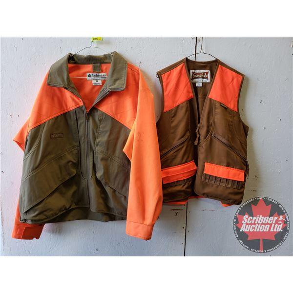 Hi-Vis Shooting Coat & Shooting Vest (Size XL)