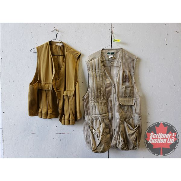 Game Hunting/Shooting Vests (2) (Size L)