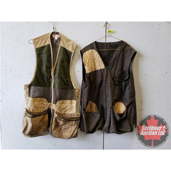 Game Hunting/Shooting Vests (2) (Size Small)
