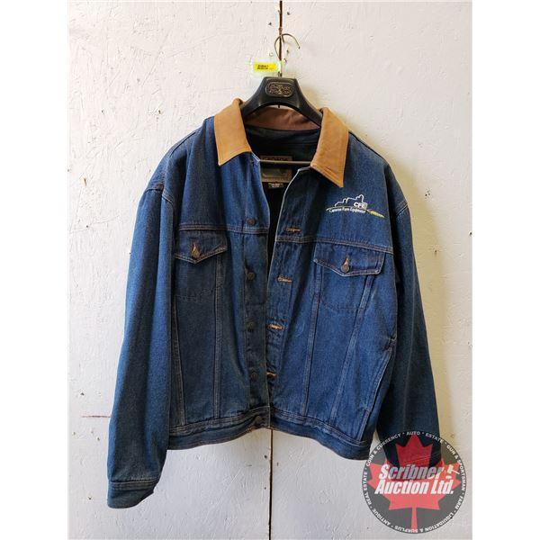 Insulation Denim Coat (Size XL)