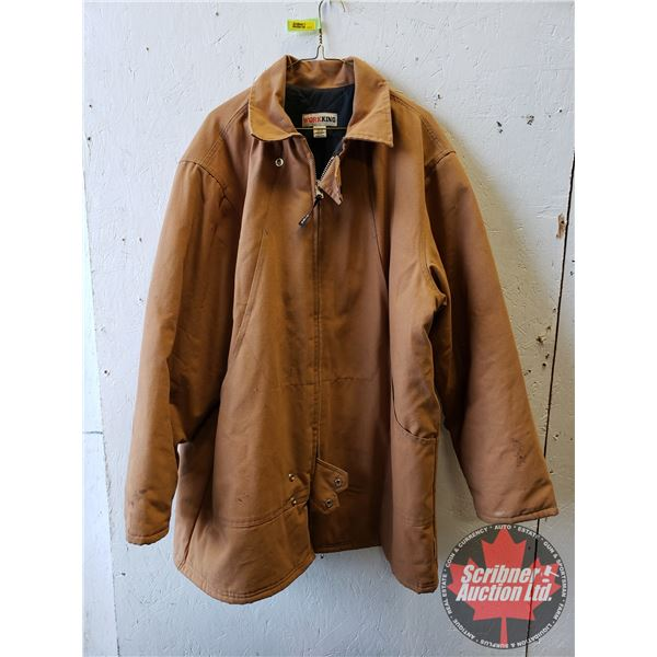 Canvas Lined Coat (Size XL)