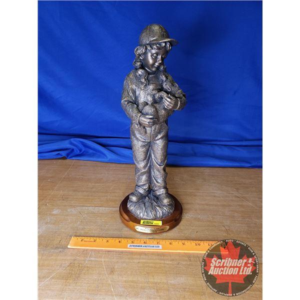 "Ducks Unlimited ""Puppy Love"" Statue No. 260/800  (16""H)"