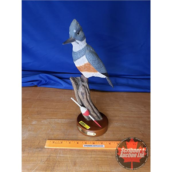 """Ducks Unlimited """"The Fisherman"""" No. 312/800 (14""""H)"""