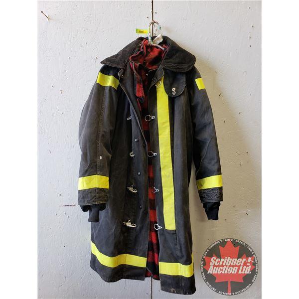 "Fireman's Coat (Size : Chest 40"" & Length 46"")"