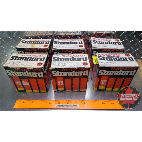 "AMMO: Winchester Standard 12ga 2-3/4"" (148 Total)"