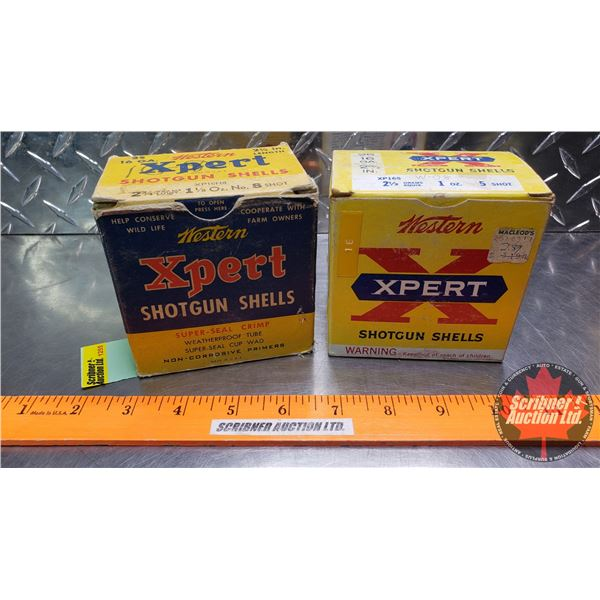 """AMMO: Vintage Western Xpert 16ga 2-3/4"""" (2 Boxes of 25) (50 Total)"""