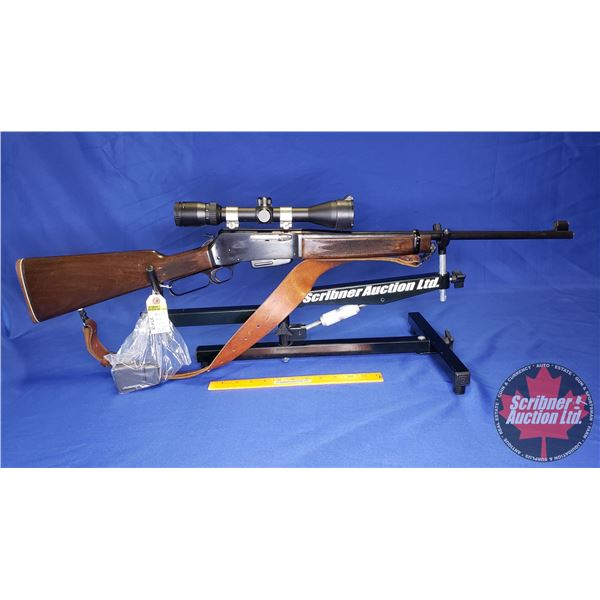 RIFLE: Browning BLR 243 Lever w/2 Clips, Sling & Scope 3-9x40 (S/N#53439K57)