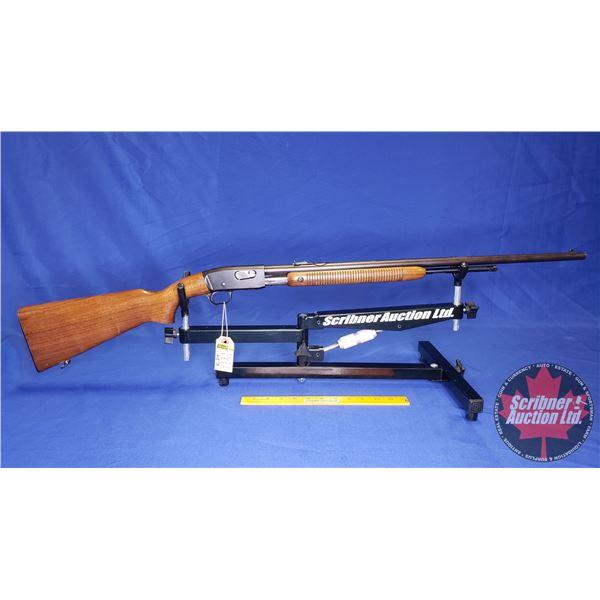 RIFLE: Remington The Fieldmaster 121 Pump 22 SL/LR (S/N#124464)