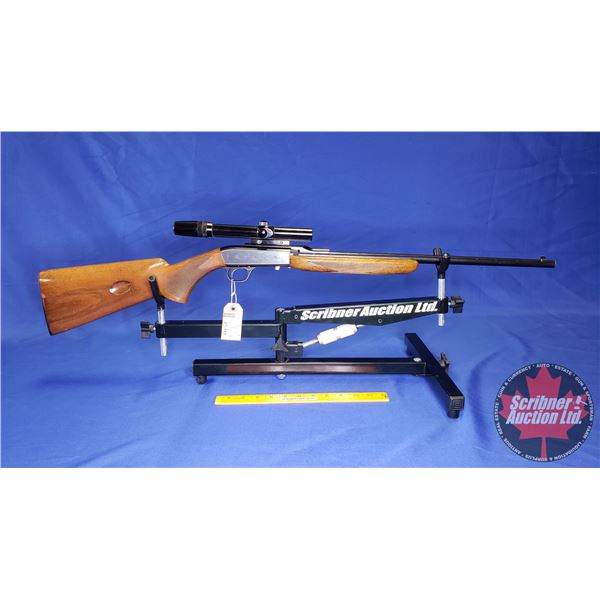 RIFLE: Browning SA22 Takedown 22LR Semi-Auto w/Bushnell Scope 3x-7x (S/N#7T74827)