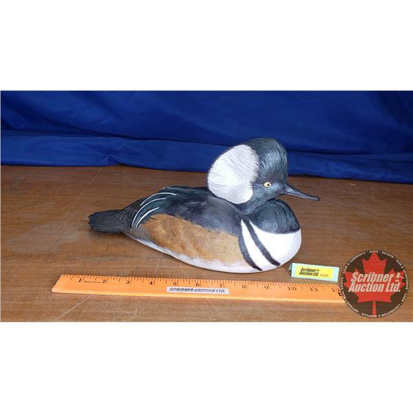 "Duck's Unlimited Hooded Merganser Ornament (6""H x 5""W x 12""L)"