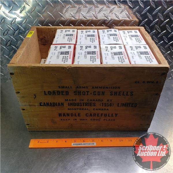 "AMMO: Box Lot: Winchester Duck Load High Velocity 12ga 2-3/4"" (1-3/16oz : 5 Shot) (18 Boxes of 25 ="