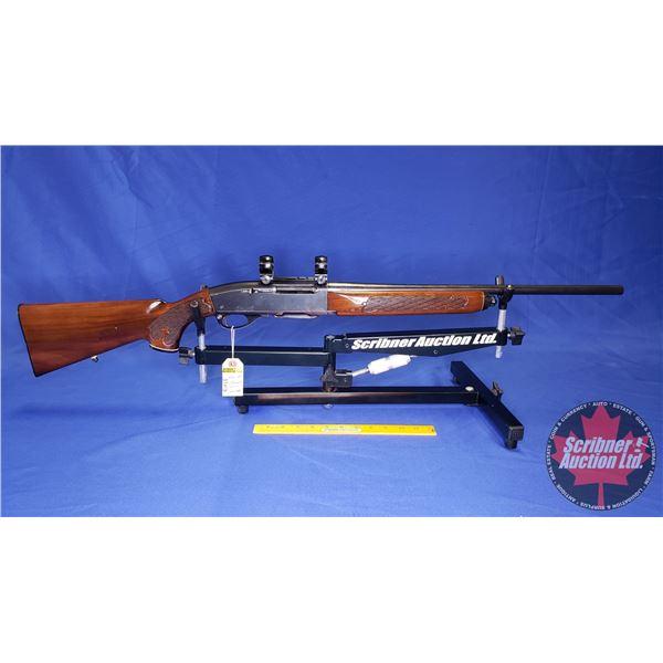 RIFLE: Remington 742 Woodsmaster 308 Win Semi-Auto w/Scope Rings (S/N#A7223787)