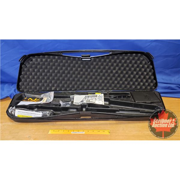 Gun Case (Plastic Moulded) for 16ga Browning A5 (w/2 Chokes, Sticker, Trigger Lock & Recoil Spacer)