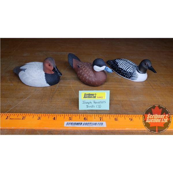 Joseph Revello's Ornaments (1 Loon, 2 Ducks) (Small)