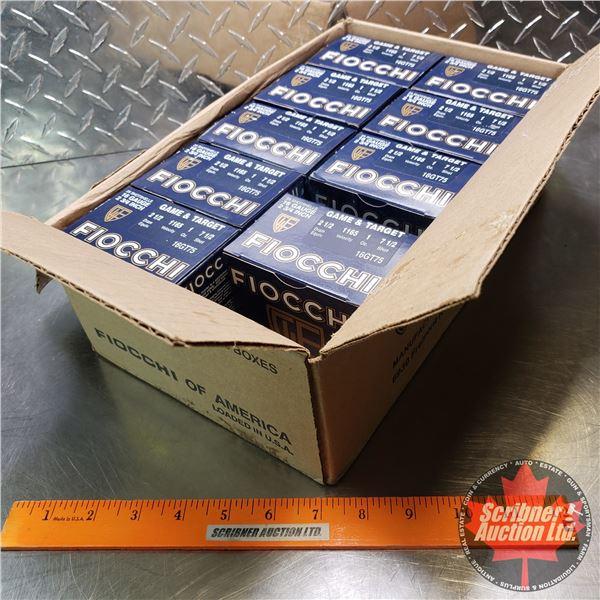 "AMMO: Fiocchi Game Target 16ga 2-3/4"" (1oz : 7-1/2 Shot) (9 Boxes of 25 = 225 Total)"
